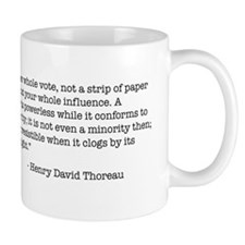 Thoreau and Collective Action Coffee Mug