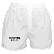 Property of Ashley Boxer Shorts