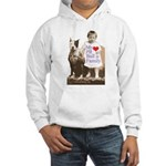 My Pit Bull is Family Hooded Sweatshirt
