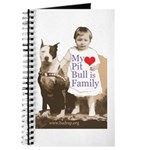 My Pit Bull is Family Journal