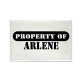 Property of Arlene Rectangle Magnet (100 pack)