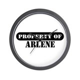 Property of Arlene Wall Clock