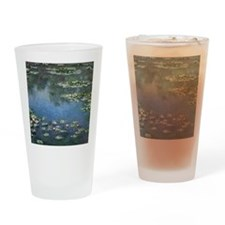 Water Lilies by Claude Monet Drinking Glass