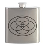 Plural Pride Symbol Flask