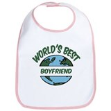 World's Best Boyfriend Bib