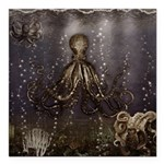 Octopus' lair - Old Photo Square Car Magnet 3