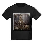 Octopus' lair - Old Photo Kids Dark T-Shirt