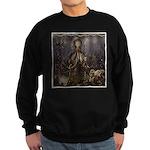 Octopus' lair - Old Photo Sweatshirt (dark)
