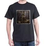Octopus' lair - Old Photo Dark T-Shirt