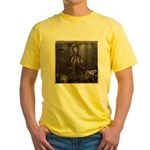 Octopus' lair - Old Photo Yellow T-Shirt