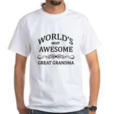World's Most Awesome Great Grandma Shirt