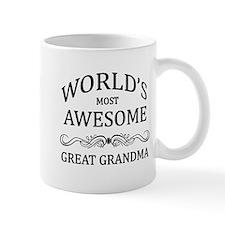 World's Most Awesome Great Grandma Mug