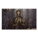 Octopus' lair - Old Photo Sticker (Rectangle 50 pk