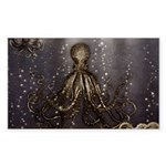 Octopus' lair - Old Photo Sticker (Rectangle 10 pk