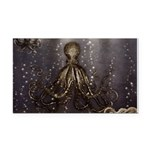 Octopus' lair - Old Photo Rectangle Car Magnet
