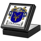 McKinney Coat of Arms Keepsake Box