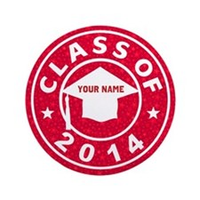"Class Of 2014 Pharmacy 3.5"" Button (100 pack)"