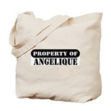 Property of Angelique Tote Bag