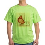 English Shortface Bald Green T-Shirt