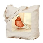 English Shortface Bald Tote Bag