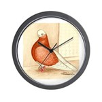English Shortface Bald Wall Clock