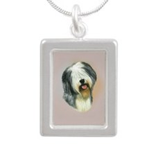 Cool Jewel Silver Portrait Necklace