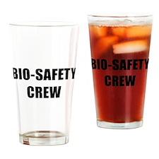 BIO-SAFETY CREW Drinking Glass