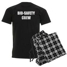 BIO-SAFETY CREW white Pajamas