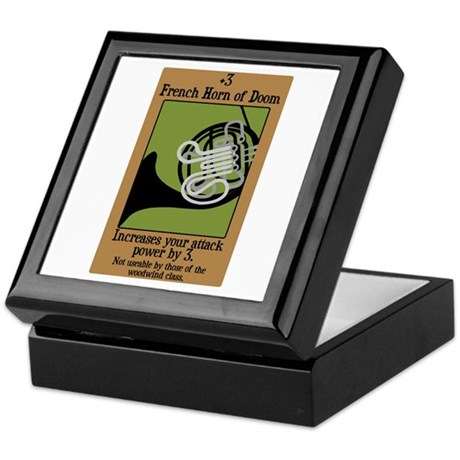 French Horn of Doom Keepsake Box