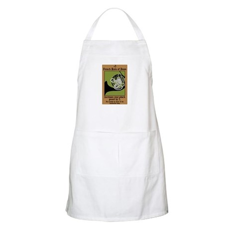 French Horn of Doom BBQ Apron