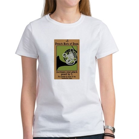 French Horn of Doom Women's T-Shirt
