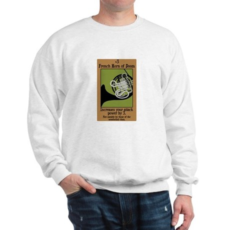 French Horn of Doom Sweatshirt