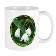Snowflake Flowers Mug