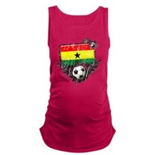 Soccer fan Ghana.png Maternity Tank Top