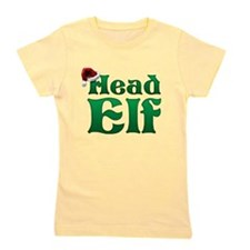 Head Elf Girl's Tee
