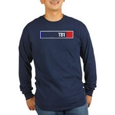 Thunderbird 1 Colour Scheme Long Sleeve T-Shirt