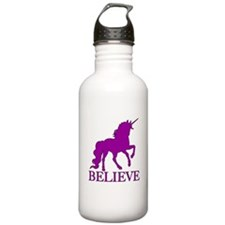 Believe Unicorn Sports Water Bottle
