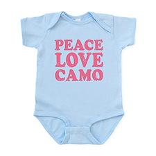 Peace Love Camo Body Suit