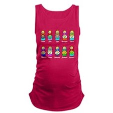 Nesting Dolls Maternity Tank Top