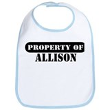 Property of Allison Bib