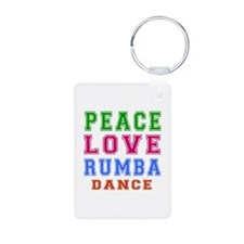 Peace Love Rumba Dance Designs Aluminum Photo Keyc