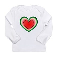 Watermelon Heart Long Sleeve T-Shirt