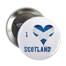 "I heart Scotland 2.25"" Button"