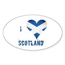 I heart Scotland Decal