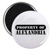 "Property of Alexandria 2.25"" Magnet (100 pack)"