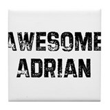 Awesome Adrian Tile Coaster