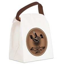 Mimbres Brn Quail Canvas Lunch Bag