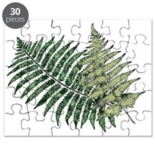 Two Lacy Ferns Puzzle