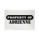 Property of Adrienne Rectangle Magnet (100 pack)