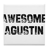 Awesome Agustin Tile Coaster